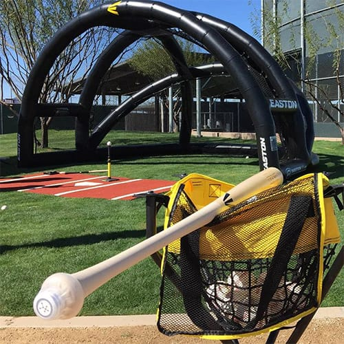 inflatable hitting stations