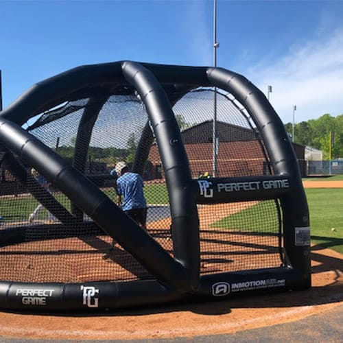 inflatable backstops
