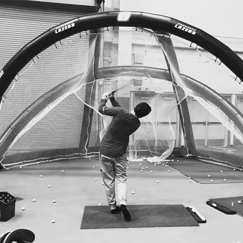 inflatable golf bays