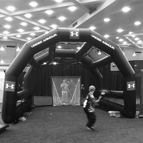 inflatable lacrosse backstops