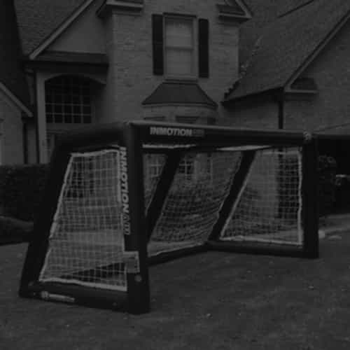 inflatable soccer goals